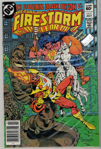 Fury of Firestorm Issue #  2 DC Comics $4.00