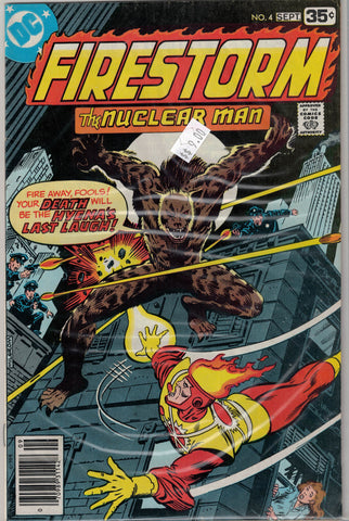 Firestorm, The Nuclear Man Issue #  4 DC Comics $9.00
