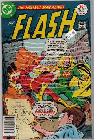 Flash Issue # 249 DC Comics $18.00