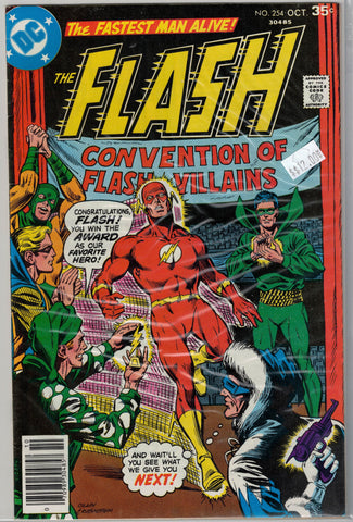 Flash Issue # 254 DC Comics $12.00