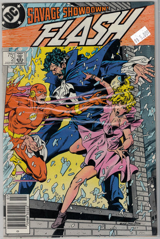 Flash(Second Series) Issue #   2 DC Comics $5.00
