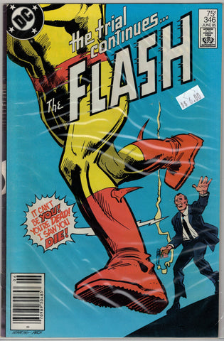 Flash Issue # 346 DC Comics $6.00