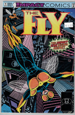 Fly Issue #  1 Impact Comics $4.00