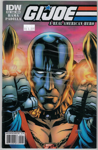 G.I. JOE Real American Hero Issue # 159 IDW Comics  $4.00
