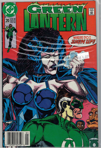 Green Lantern Issue #20 DC Comics $4.00