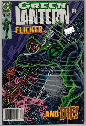 Green Lantern Issue #21 DC Comics $4.00