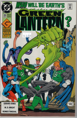 Green Lantern Issue #25 DC Comics $4.00