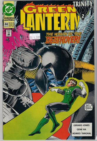 Green Lantern Issue #44 DC Comics $4.00