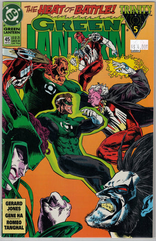Green Lantern Issue #45 DC Comics $4.00