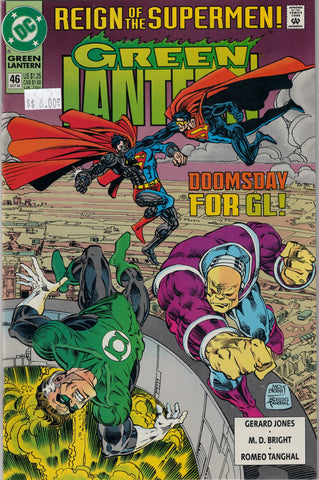 Green Lantern Issue #46 DC Comics $6.00