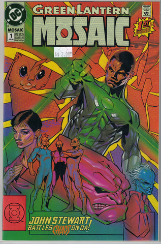 Green Lantern Mosaic Issue # 1 DC Comics $3.00