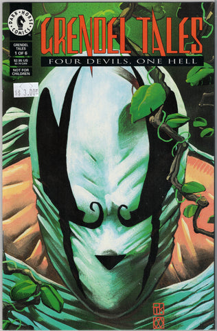 Grendel Tales: Four Devils, One Hell Issue # 1 Dark Horse Comics $3.00