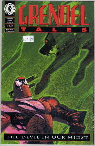 Grendel Tales: Devil in Our Midst Issue # 1 Dark Horse Comics $3.00