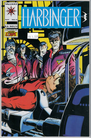 Harbinger Issue # 11 Valiant Comics $4.00