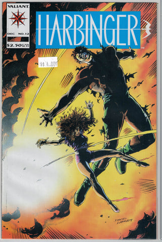 Harbinger Issue # 12 Valiant Comics $4.00