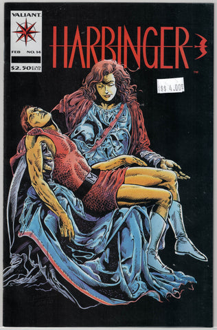 Harbinger Issue # 14 Valiant Comics $4.00