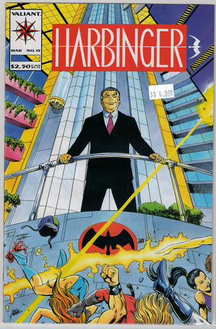 Harbinger Issue # 15 Valiant Comics $4.00