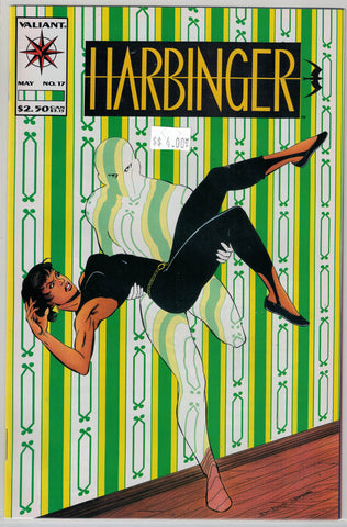 Harbinger Issue # 17 Valiant Comics $4.00