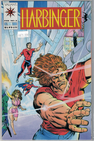 Harbinger Issue #  2 Valiant Comics $20.00