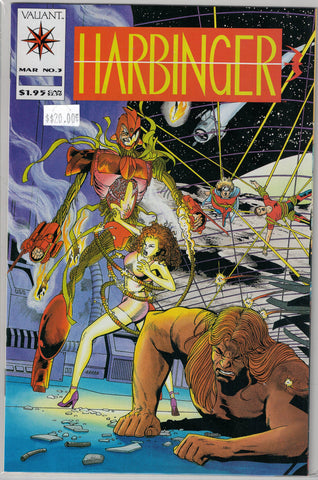 Harbinger Issue #  3 Valiant Comics $20.00