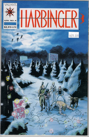 Harbinger Issue #  4 Valiant Comics $20.00