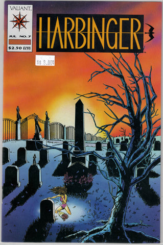 Harbinger Issue #  7 Valiant Comics $8.00