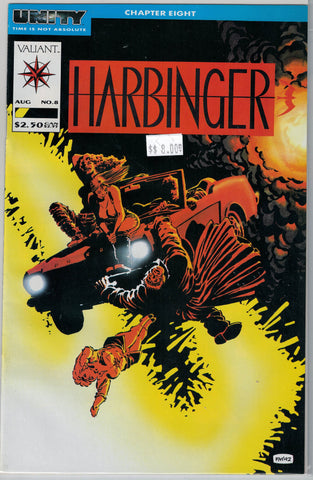 Harbinger Issue #  8 Valiant Comics $8.00