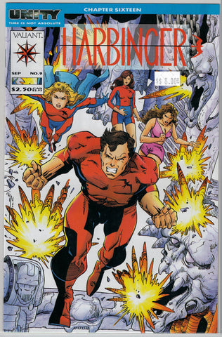 Harbinger Issue #  9 Valiant Comics $8.00