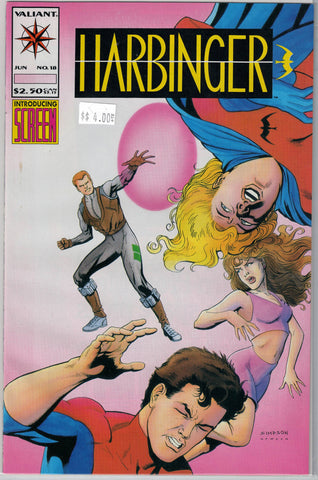 Harbinger Issue # 18 Valiant Comics $4.00