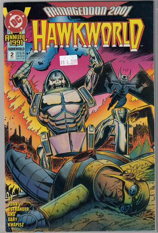 Hawkworld Issue # Annual 2 DC Comics $4.00