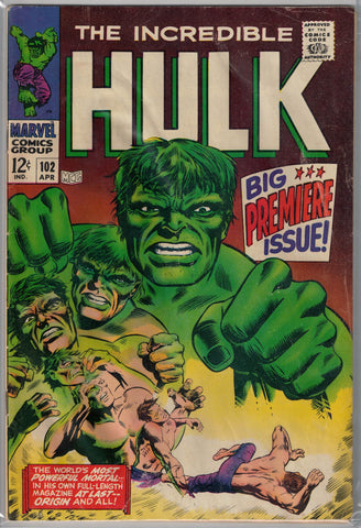 Incredible Hulk Issue # 102 Marvel Comics $50.00