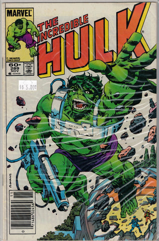 Incredible Hulk Issue # 289 Marvel Comics $5.00