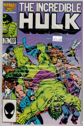 Incredible Hulk Issue # 322 Marvel Comics $4.00