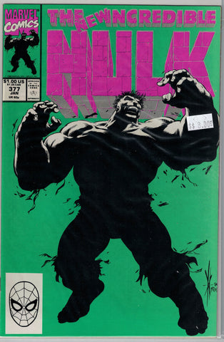 Incredible Hulk Issue # 377 Marvel Comics $8.00