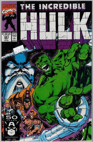 Incredible Hulk Issue # 381 Marvel Comics $3.00