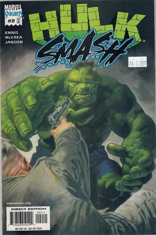Hulk:Smash Issue # 2 Marvel Comics $3.00