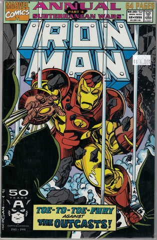 Iron Man Issue # Annual 12 Marvel Comics $4.00
