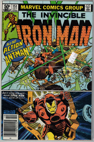 Iron Man Issue # 151 Marvel Comics $6.00