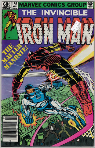 Iron Man Issue # 156 Marvel Comics $6.00