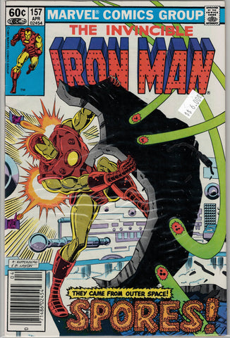 Iron Man Issue # 157 Marvel Comics $6.00