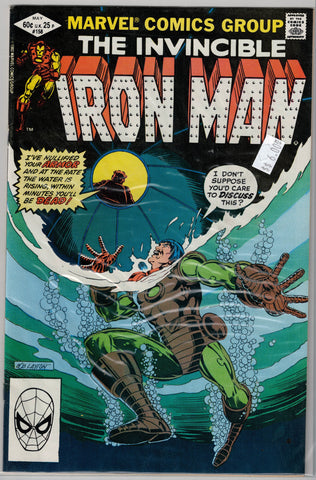 Iron Man Issue # 158 Marvel Comics $6.00