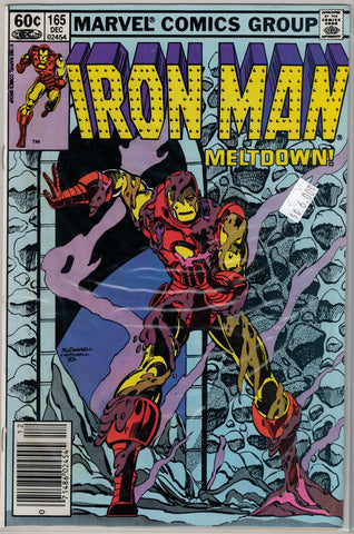 Iron Man Issue # 165 Marvel Comics $6.00