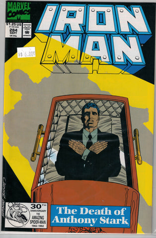 Iron Man Issue # 284 Marvel Comics $6.00