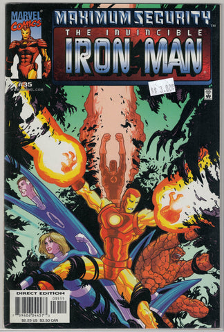 Iron Man Series 3 Issue # 35 Marvel Comics $3.00