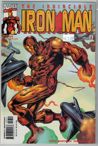 Iron Man Series 3 Issue # 37 Marvel Comics $3.00