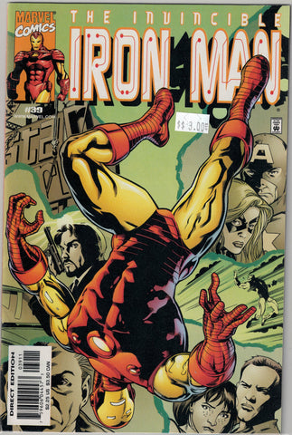 Iron Man Series 3 Issue # 39 Marvel Comics $3.00