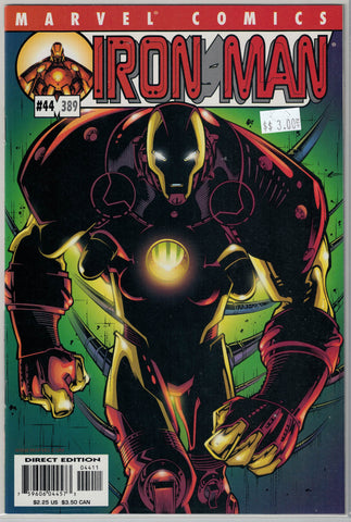 Iron Man Series 3 Issue # 44 Marvel Comics $3.00