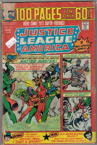 Justice League of America Issue # 116 DC Comics $5.00