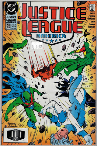 Justice League Issue #  38 DC Comics $3.00