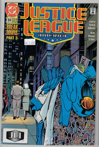 Justice League Issue #  54 DC Comics $3.00
